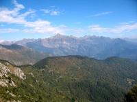 Vista dalla terrazza panoramica della Cimetta - prealpi svizzere