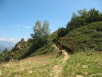 Punto panoramico presso l'Alpe Cortevecchio (foto di precedente escursione)