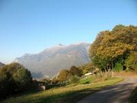 Vicino Artore sulla strada per Bellinzona