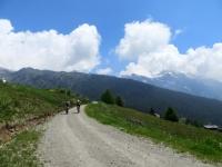 Salita verso l'Alpe da Carì