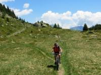 Arrivo all'Alpe di Chiera