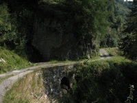 Discesa verso l'Alpe di Gesero