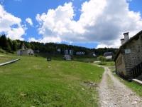 Arrivo all'Alpe di Mera