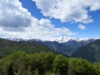 Parte terminale della Valsesia e Monte Rosa