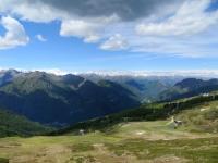 Alpe Presa (sx) e Alpe di Mera (dx), sullo sfondo la Valsesia