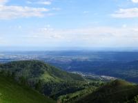 Panoramica sul Biellese da Bocchetto Sessera