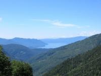 Vista del Lago Maggiore dall'Alpe di Neggia