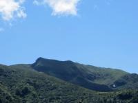 Discesa verso Indemini, vista sulla vetta del Monte Gradiccioli