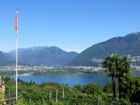 Lago Maggiore, foce del fiume Maggia