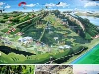 Panoramica dell'area divertimenti Monte Tamaro