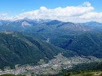 Alpe Foppa - Panorama dalla Cappella di santa Maria degli Angeli