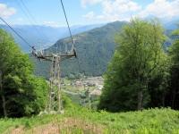 Salendo all'Alpe Foppa