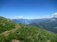 Sentiero che collega l'Alpe Foppa con l'Alpe Duragno