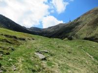 L'antenna presso il Motto Rotondo vista dall'Alpe Duragno