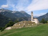 Rossura - chiesa dei Santi Lorenzo ed Agata