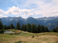 Panoramica sui rilievi della Leventina dall'Alpe dei Piai (Val Chironico e circostanti rilievi)