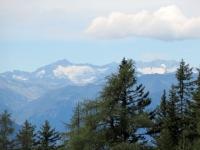 I rilievi del Gottardo visti dall'Alpe dei Piai