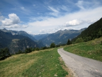 Panorama da Monte Angone - Vista sull'Alpe di Carì, sull'Alpe di Chiera e sul Gottardo