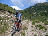 Salita all'Alpe gigiai dall'Alpe di mezzo - particolare