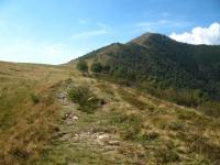 In prossimità dell'Alpe Giumello - ultimo tratto di salita