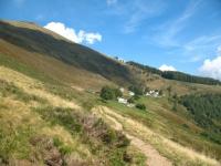 Panoramica sull'alpe Chiaro