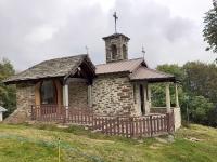 La graziosa chiesetta presso l'Alpe Piane di Cervarolo
