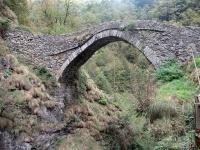 L'antico Ponte di Gula sul torrente Mastallone