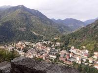 Varallo Sesia vista dal Sacro Monte