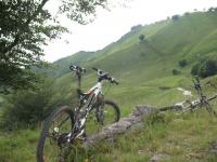 Nei pressi dell'Alpe sacchi