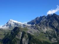 Da sx a dx - Mont Gelè (3.518), Becca Crevaye (3.320), Mont Clapier (3.437), Monte Berrio (3.077) e Punta Fiorio (3.332)