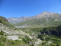 I tornanti del Moncenisio, la piana di San Nicolao ed i resti del villaggio della Grand Croix