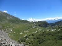 Panorama dalla diga del Moncenisio - la piana del villaggio della Grand Croix