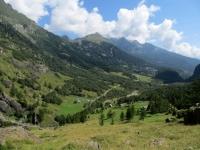 Salita per l'Alpe Veglia, panorama su Ponte Campo