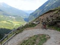 Discesa dall'Alpe Veglia verso Ponte Campo