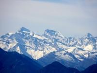 Monti di Motti - Mischabel (Strahlhorn, Rimpfischhorn, Allalinhorn)