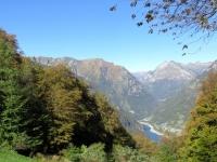 Il Lago di Vogorno dai Monti di Motti