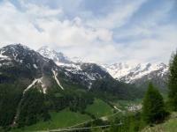 Panorama sulla vallata di Simplon Dorf