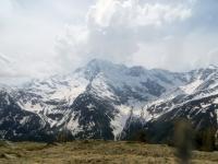 Panoramica sulla catena del Fletschhorn (3.985)