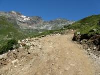 Salita all'Alpe Forno - tratto ripido
