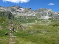 Panorama nei pressi dell'Alpe Forno inferiore