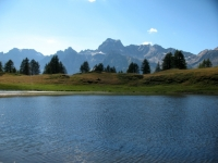 Nei pressi dell'Alpe Sangiatto - lago alpino