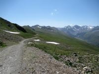 Inizio dell'Alps Epic Trail Davos dallo Jakobshorn