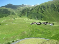 La bellissima valle di Sertig