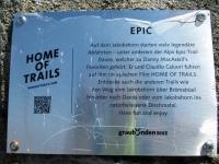 Alps Epic Trail Davos - Targa Home of Trails sullo Jakobshorn