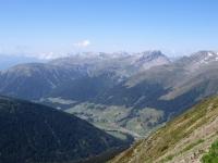 Panorama dal lo Jakobshorn - La valle del Landwasser