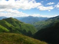 Valle Albano e Monte Legnone sullo sfondo