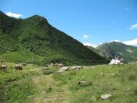 Piano delle Pecore, lungo la Via del Ferro