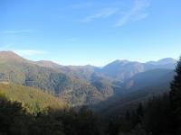Panorama da Bocchetto Sessera sui rilievi dell'Alta Valsessera confinali con la Valsesia