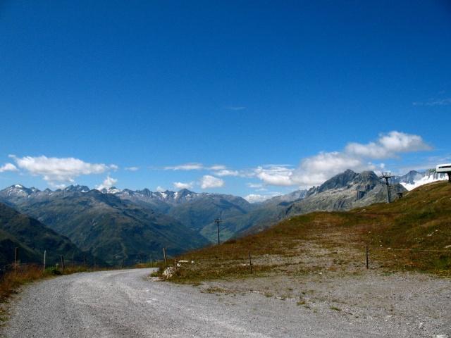 Salita in direzione Oberalppass