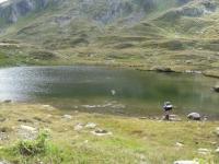 Laghetto alpino nella Val Maighels